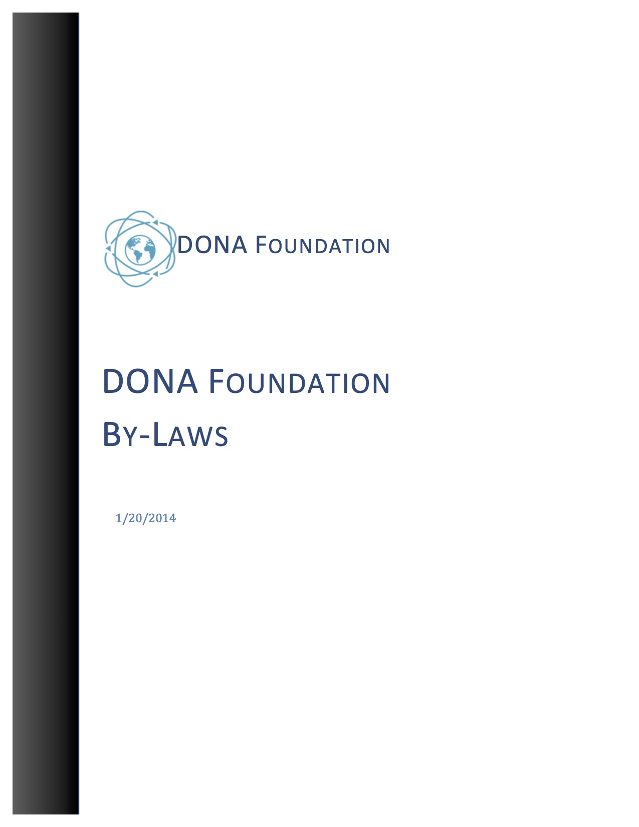 The DONA Foundation By-Laws